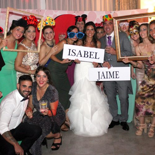 Photocall para bodas o eventos